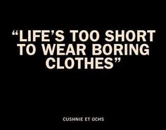 Fashion Quotes | #threetwelves