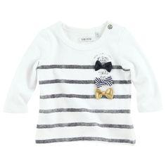 Ikks T-shirt long sleeve striped cotton jersey | Melijoe.com
