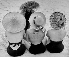 vintage everyday: Beautiful Black and White Fashion Photography by Nina Leen in the and White Photography, Fashion Photography, Travel Photography, Vintage Photography Women, Face Photography, Ocean Photography, People Photography, Black White Photos, Black And White