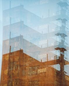 factory trails: surreal photography. by FieldsOfAphelion on Etsy (Art & Collectibles, Photography, Color, multiple exposure, 35mm film, trippy art, pittsburgh art, urban photography, surreal photography, architecture photo, industrial decor, fine art photography, abandoned building, graffiti art photo, abandoned factory, urban art print)