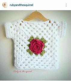 Prendas Hechas Con Knitting Patterns, Knitting Designs, Knitting For Beginners. Crochet Baby Blanket Beginner, Crochet Baby Sweaters, Crochet Baby Dress Pattern, Crochet Baby Cardigan, Crochet Baby Clothes, Baby Knitting, Knit Crochet, Crochet Patterns, Crochet Toddler