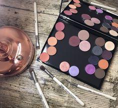 Makeup revolution X palette dupe with Younique shadows