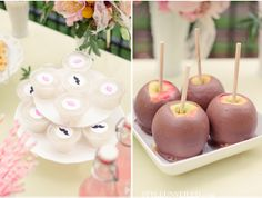 I would love Candy (red candy) apples :) Wedding Snacks, Wedding Desserts, Carnival Wedding, Vintage Carnival, Carnival Themes, Circus Theme, Wedding Divas, Wedding Stuff, Carnival Inspiration