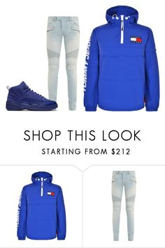 """""""69"""" by team1400 on Polyvore featuring Tommy Hilfiger, Balmain, men's fashion and menswear"""