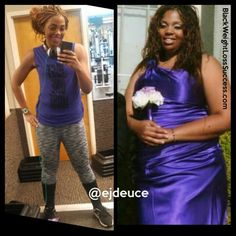 Ebony lost 131 pounds