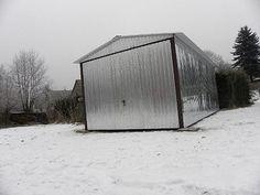 Plechová garáž, sklad, zahradní domek