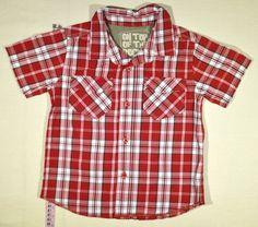 750 Ft. - Ing - piros-fehér kockás (Mothercare) Ing, Button Down Shirt, Men Casual, Plaid, Mens Tops, Women, Fashion, Gingham, Moda