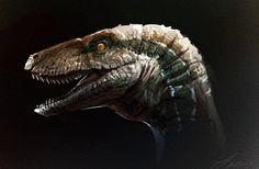 Jurassic World: Blue Sketch by LindseyWArt on DeviantArt