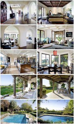 Meg Ryan's Bel Air home