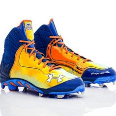 72832e70ee1 Bryce Harper s Under Armour Spine Highlight ST Home Run Derby Cleats
