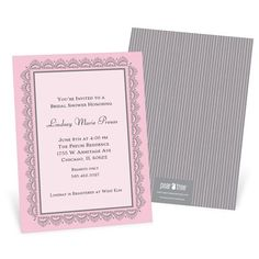 New Bridal Shower Invitations from @Pear Tree Greetings that are perfect for celebrating any bride-to-be! #bridalshowerinvitation #bridalshower #peartreegreetings