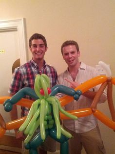 Cthulhu balloon animal (best party ever?)
