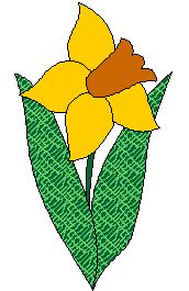 Free Applique Flower Patterns | This applique flower block is meant to be done using the fusibleweb ...