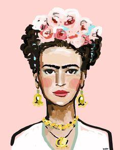 Frida Kahlo, Print on paper or canvas
