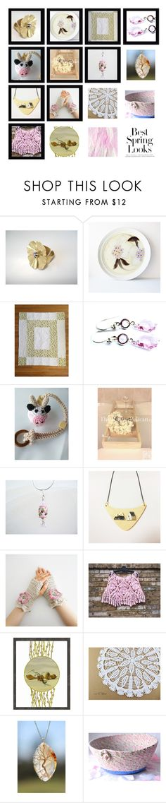 """Think Spring"" by fibernique ❤ liked on Polyvore featuring Noritake, H&M and vintage"