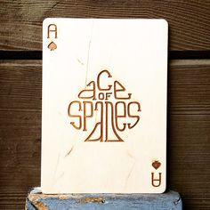 VandaType card 1: Ace of Spades