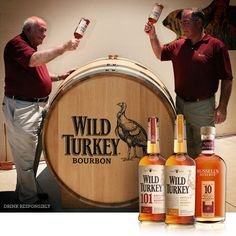 While most of us are cracking Easter eggs, our Master Distiller, Jimmy Russell and Associate Distiller, Eddie Russell are tapping a barrel.