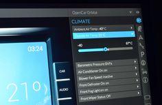 OpenCar UI Detail