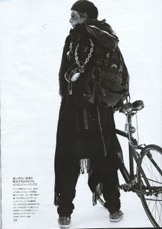 eternallethargy:  Undercoverism fw05 in Men's Non-No magazine