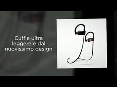 TecHERE SoundPlugs - Cuffie auricolari stereo bluetooth 4.1 senza fili i...