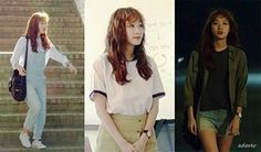 Cheese in the Trap Hong Seol fashion College Casual, Cheese In The Trap, Art Hoe Aesthetic, Korean Outfits, Fashion Outfits, Womens Fashion, Asian Fashion, Korean Drama, Pretty Outfits