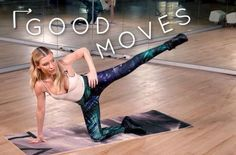 Tracy Anderson's 6-minute abs workout to burn calories and boost your digestion #AbWorkouts