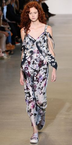 The Stunning Dresses from #NYFW - Calvin Klein Collection  - from InStyle.com