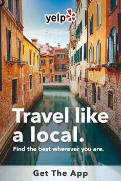 Whether you are looking for the best local restaurants, businesses, or whatever else your travel plans need, Yelp has tons of great suggestions with reviews from millions of users. Get the app and start searching.