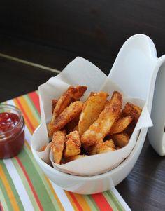 Baked Parmesan Wedge Fries