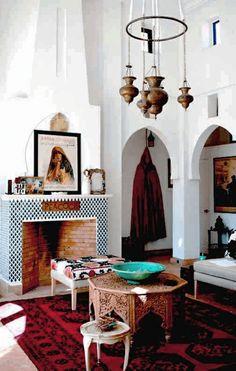 Wohnzimmer Orientalischer Stil Couchtisch Rund Holz