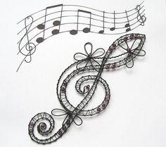 Romantický houslový klíč