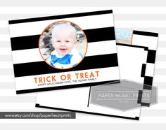 20% off right now PLUS you'll get a coupon to use towards your Christmas cards!  www.etsy.com/shop/paperheartprints  #halloween #halloweencard #photocard #postcard #invitation #party #partyinvite #etsy #etsylove #paperheartprints