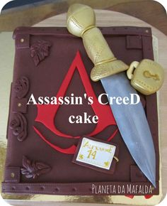 assassins creed cake 3