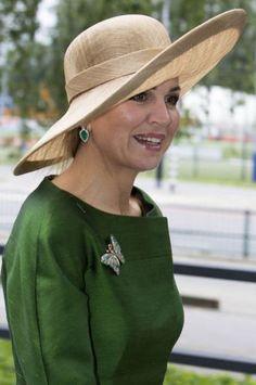 Queen Máxima, June 18, 2016 in Fabienne Delvigne | Royal Hats