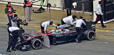 Fernando Alonso / McLaren MP4-30 Honda