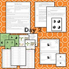 This Representing Fractions teaching unit provides 10 days of instruction Problem Solving Activities, Teaching Activities, Math Lesson Plans, Math Lessons, Daily 3 Math, 3rd Grade Math Worksheets, Math Blocks, Data Tracking, Learning Targets
