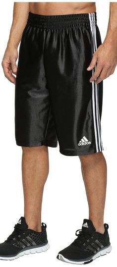 adidas Basic Shorts 4 (Black/White) Men's Shorts - adidas, Basic Shorts 4, AP0421, Apparel Bottom Shorts, Shorts, Bottom, Apparel, Clothes Clothing, Gift, - Fashion Ideas To Inspire