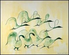 Benjamin Chee Chee, Canada Geese