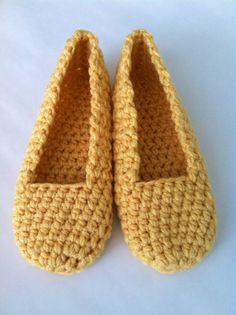 Familia de zapatillas Crochet adulto casa zapato simplemente