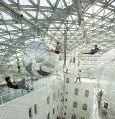 Puts You In Orbit / Tomas Saraceno... - instalaciones efimeras