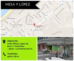 Europan Mesa y López HORARIO DE TIENDA lunes - sábado: 7:30 - 21:30 domingos: 8:00 - 21:30
