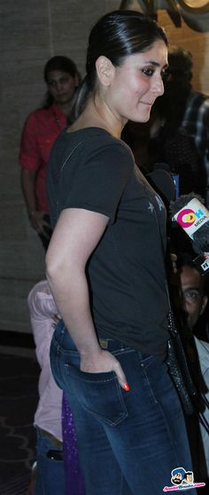 Kareena Kapoor from the side.