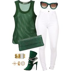 A fashion look from September 2015 by fashionkill21 featuring Acne Studios, Nancy Gonzalez and Thierry Lasry