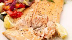 Gordon Ramsay's Mediterranean salmon fillet