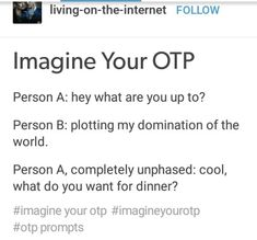 ....the first thing I can think of is like a demon dating a human or angel type of character. And that make this so much better. Or like ani septicy and darkiplier.