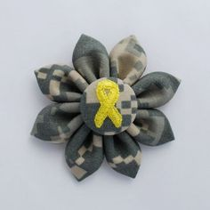US Army ACU Digital Camo Small Fabric Sunflower by WinterButterfly, $7.00