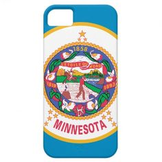 grew up there.. have not been back in forever !  Minnesota State Flag iPhone 5 Case