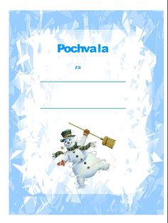 pochvala Winter Time, Activities For Kids, Children, Creative, Frames, Movie Posters, Day Planners, Carnavals, Young Children