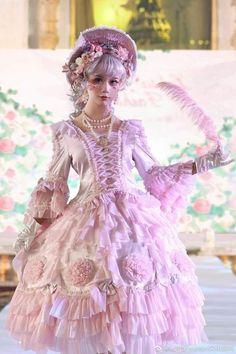 Old Fashion Dresses, Fashion Outfits, Fasion, Lolita Mode, Fantasy Dress, Princess Style, Lolita Dress, Lolita Fashion, Dress To Impress