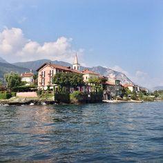 Lago Maggiore in italy. Photo courtesy of lugeman on Instagram.